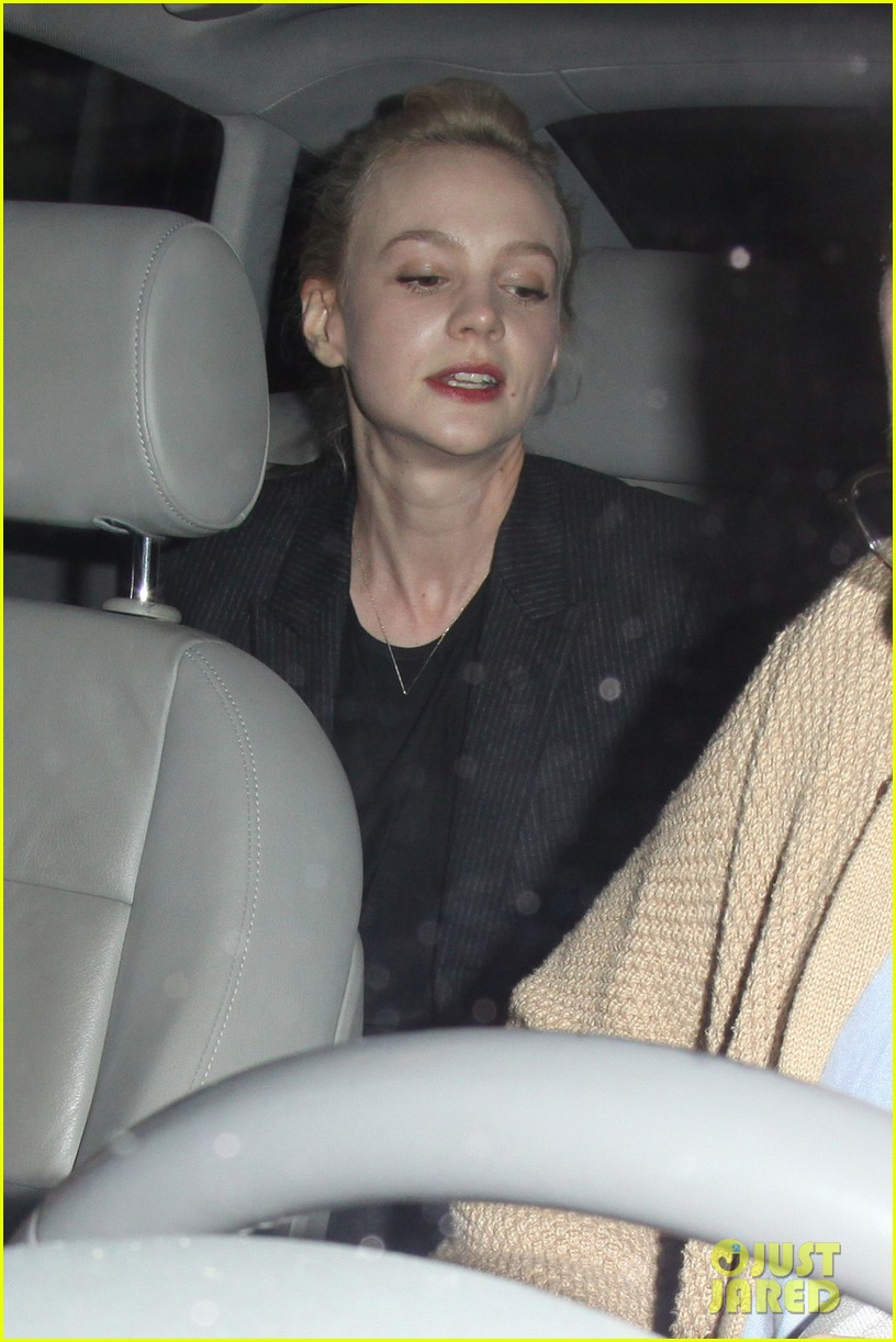 carey mulligan marmus mumford enjoy night at chateau marmont 02