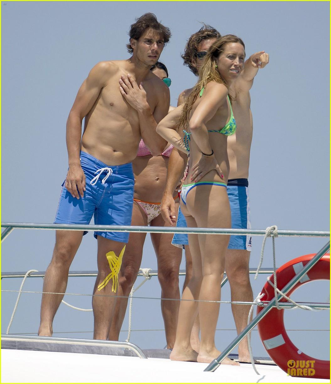 rafael nadal shirtless ibiza vacation with maria francisca perello 012901369