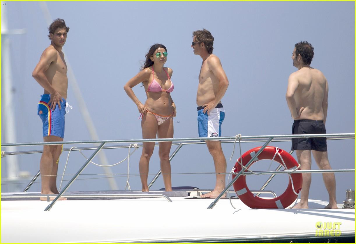 rafael nadal shirtless ibiza vacation with maria francisca perello 082901376
