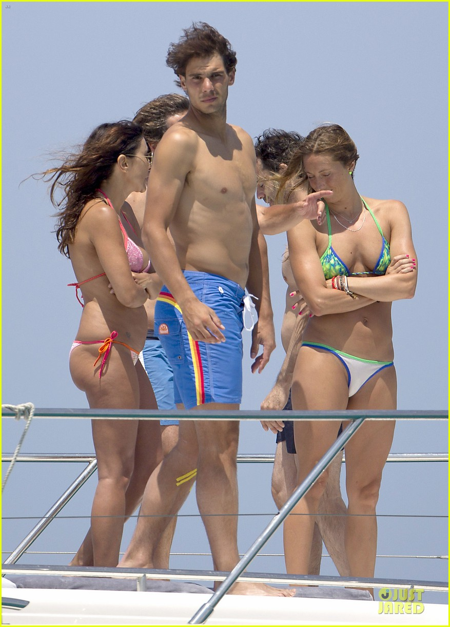 rafael nadal shirtless ibiza vacation with maria francisca perello 142901382