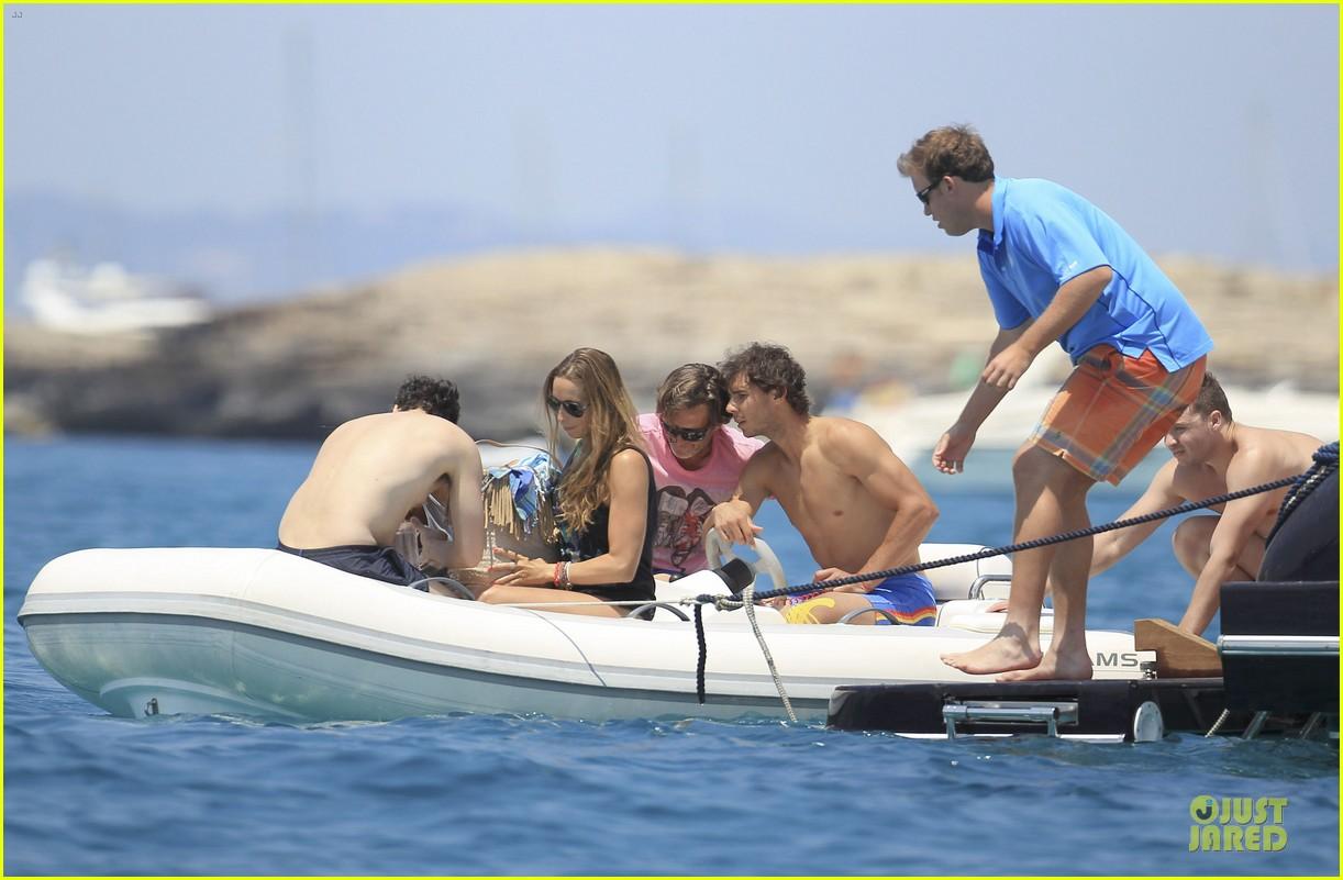 rafael nadal shirtless ibiza vacation with maria francisca perello 292901397