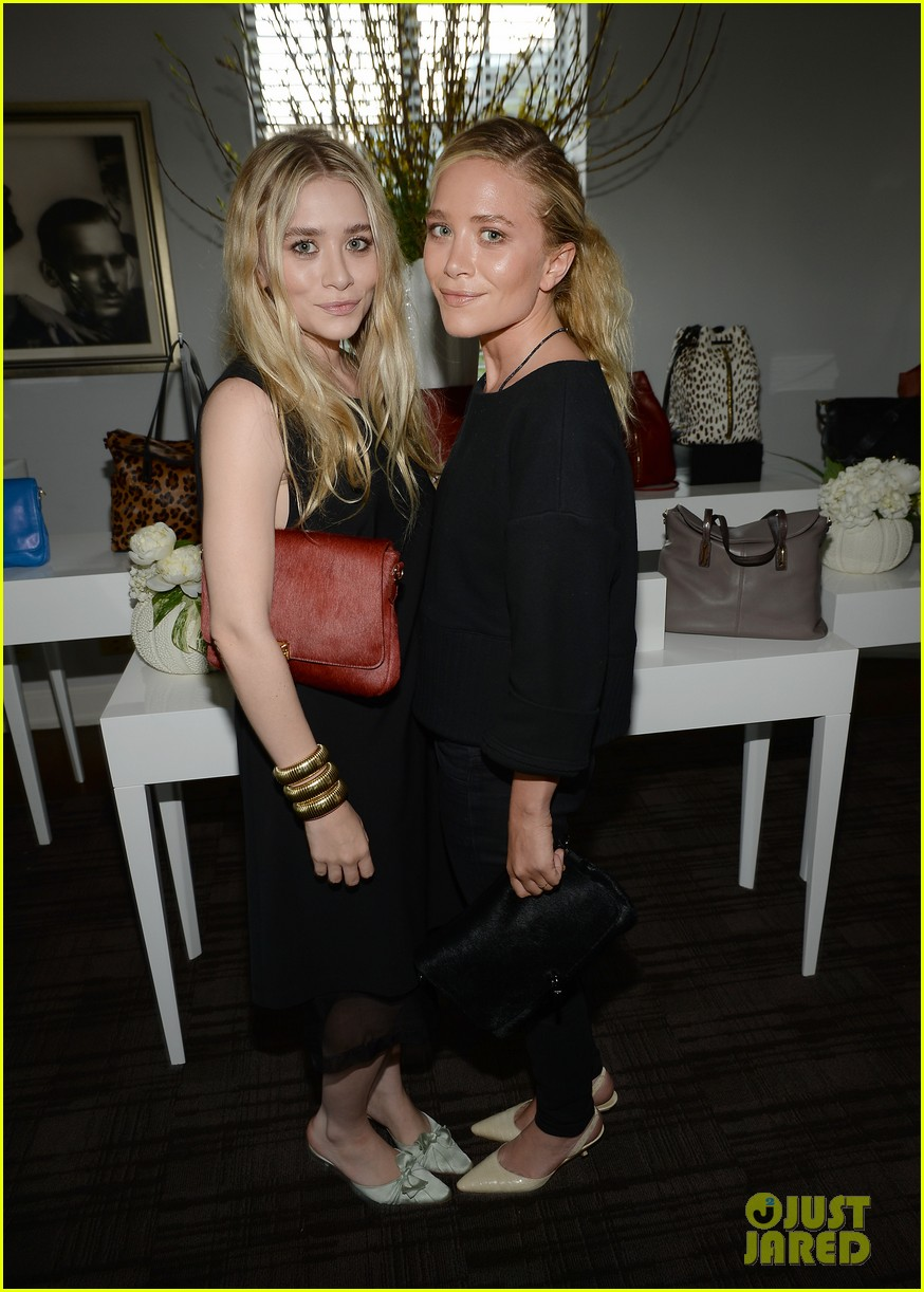 mary kate ashley olsen instyle elizabeth james handbag launch 012894965