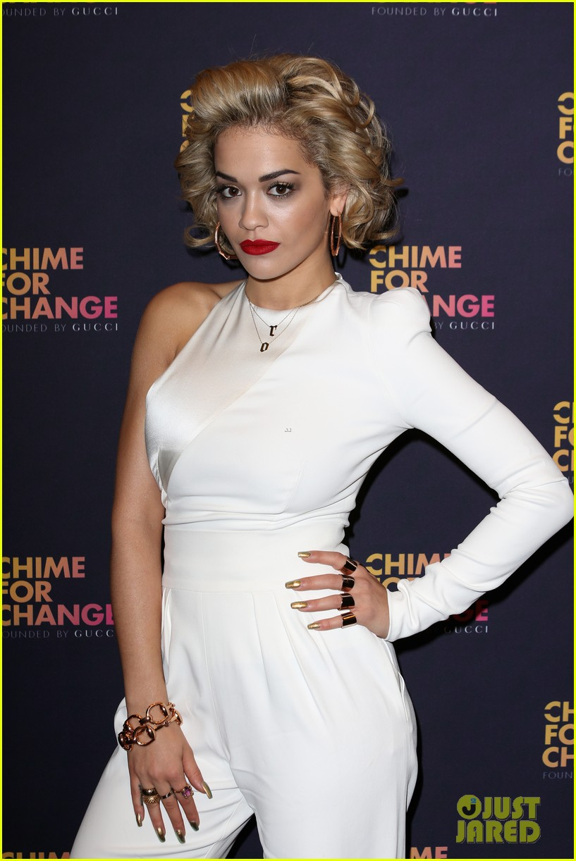 rita ora ellie goulding chime for change media room 122882239