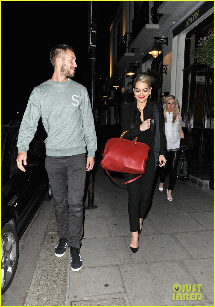 rita ora calvin harris dinner with ellie goulding 052885746
