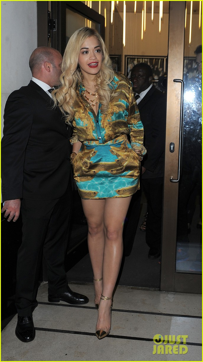 rita ora sony xperia access launch party 052894225
