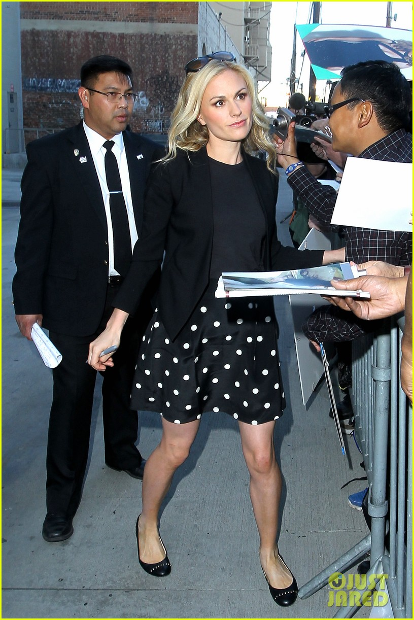 anna paquin visits kimmel stephen moyer honors students 032895536