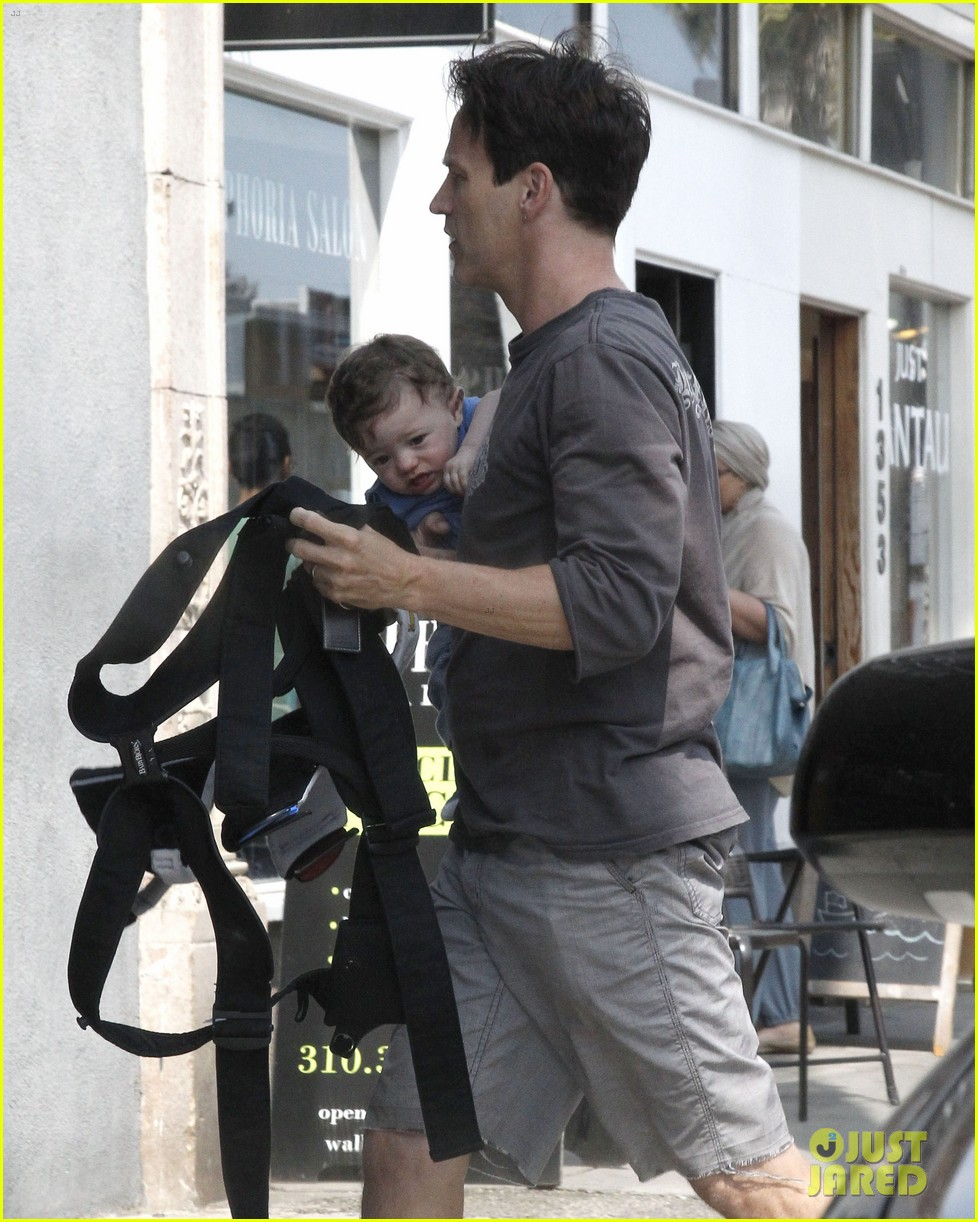 anna paquin stephen moyer lunch with charlie poppy 062900966