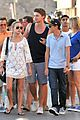 patrick schwarzenegger taylor burns hold hands in st tropez 07