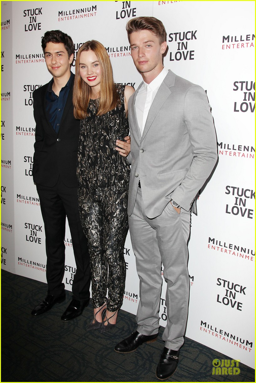 patrick schwarzenegger stuck in love nyc screening 012899097