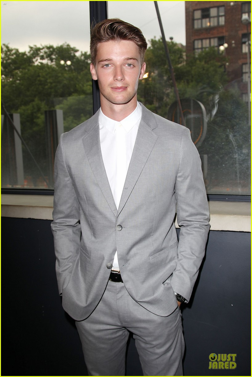 patrick schwarzenegger stuck in love nyc screening 112899107