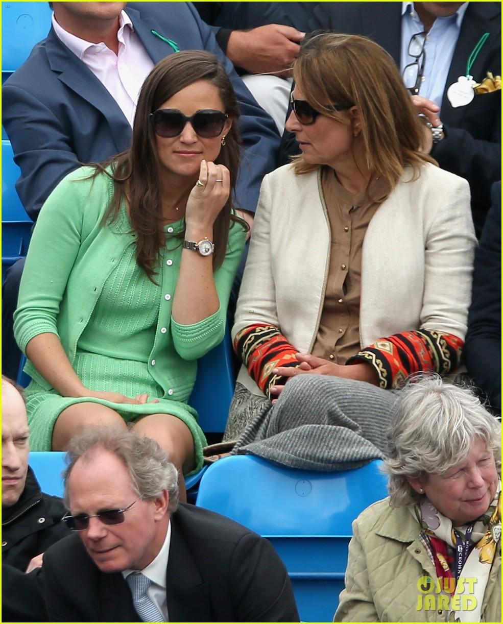 pippa middleton aegon championships with mom carole 152893123