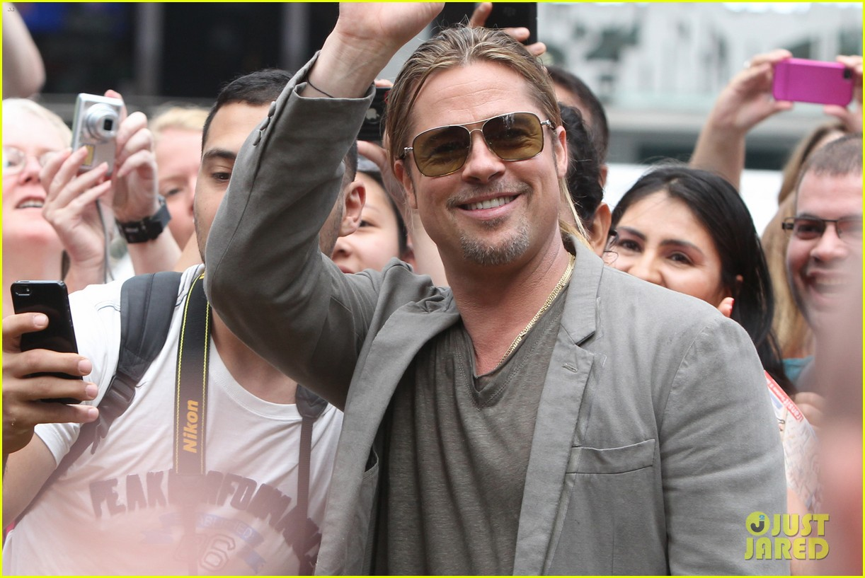 brad pitt good morning america appearance 152892878