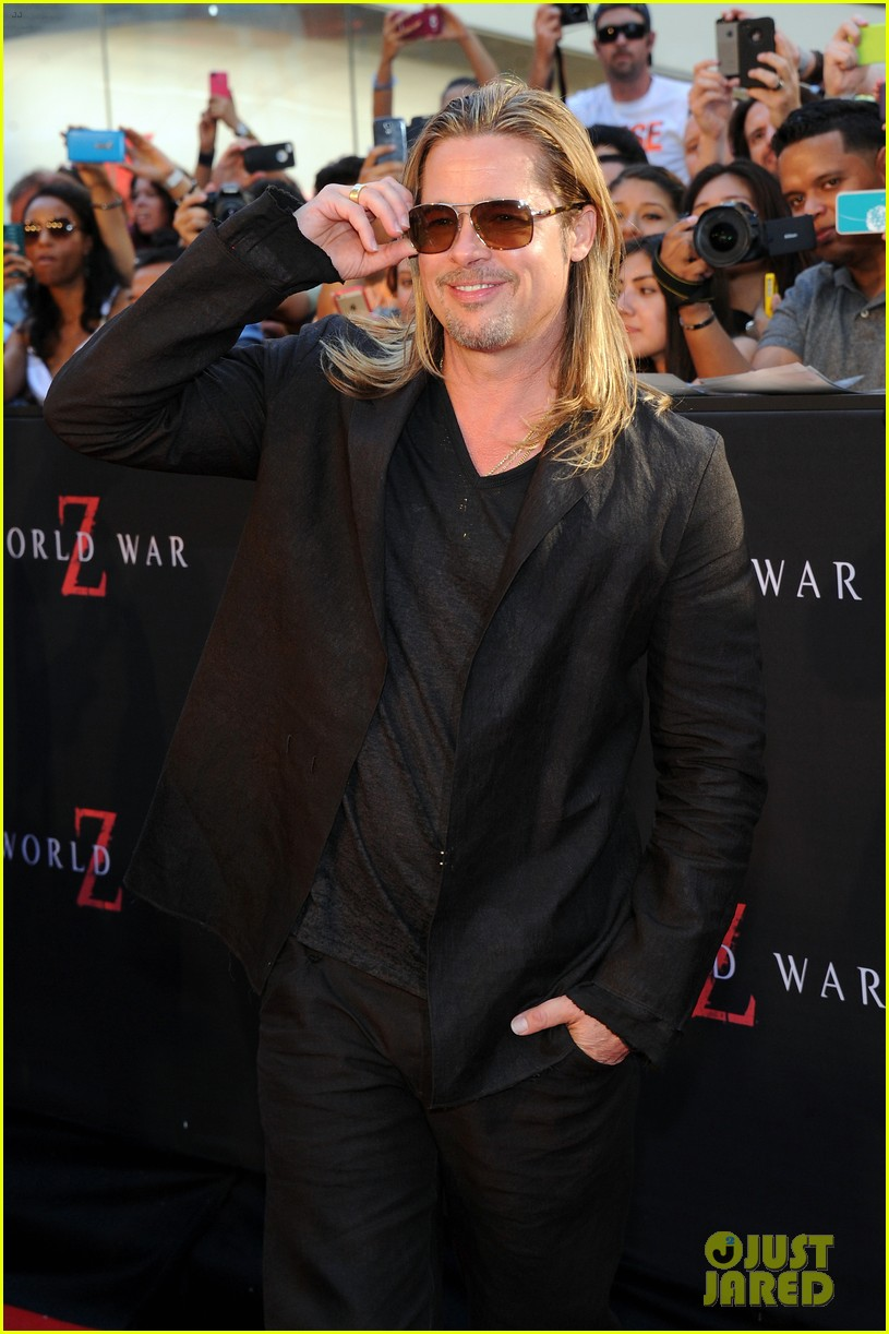 brad pitt world war z new york premiere 012893143