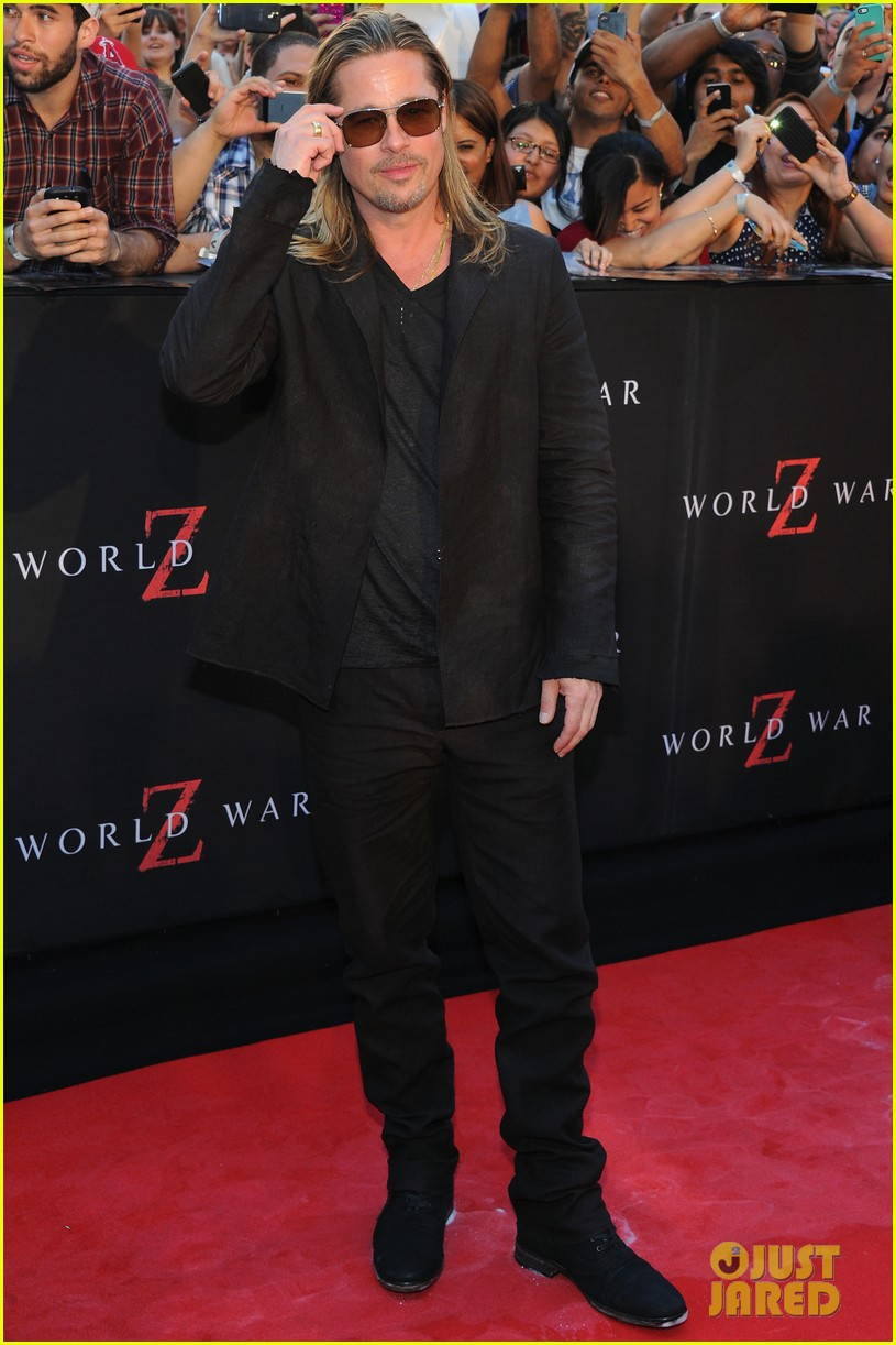 brad pitt world war z new york premiere 042893146