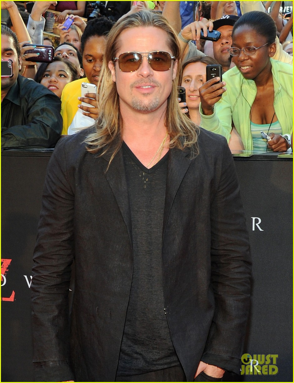 brad pitt world war z new york premiere 062893148