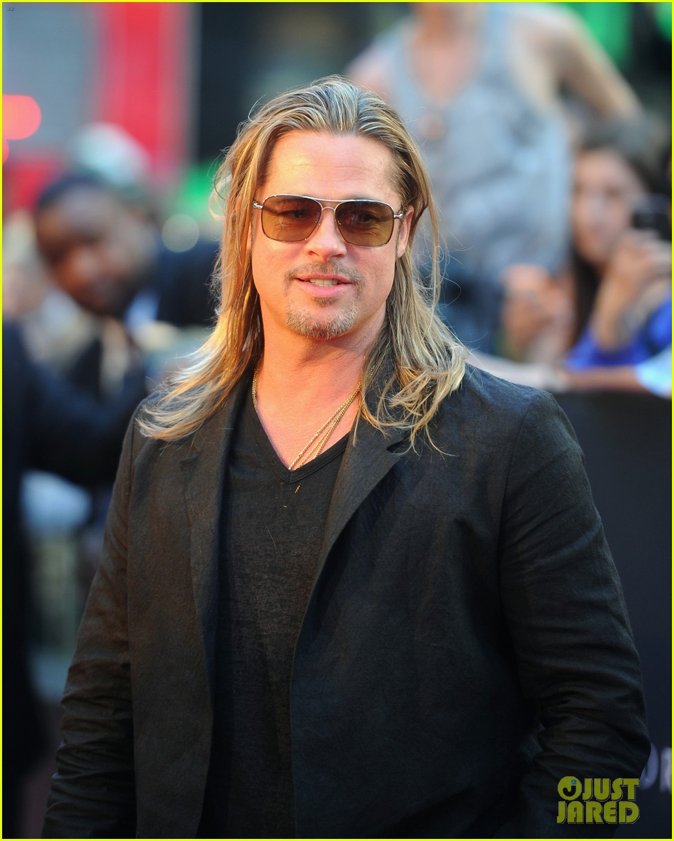 brad pitt world war z new york premiere 082893150