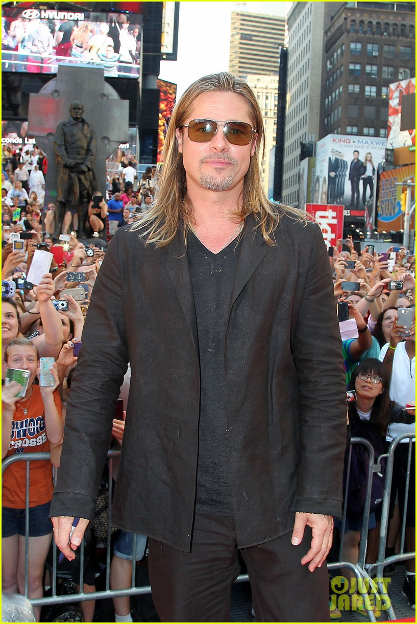brad pitt world war z new york premiere 112893153