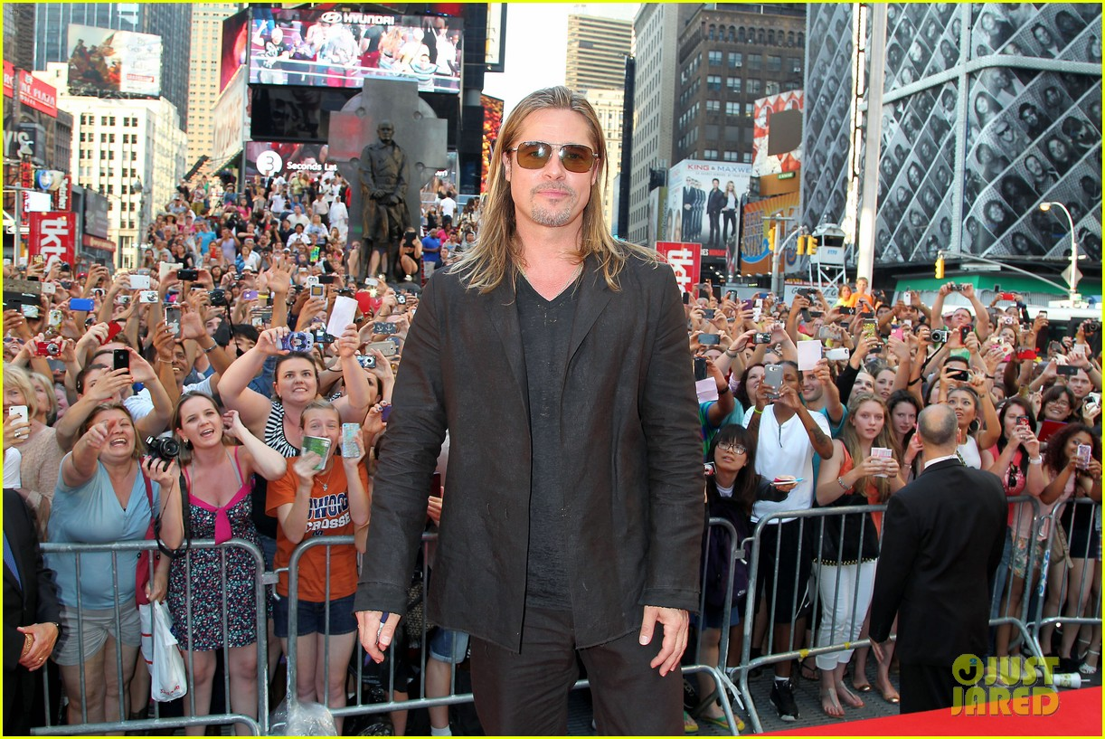 brad pitt world war z new york premiere 142893156