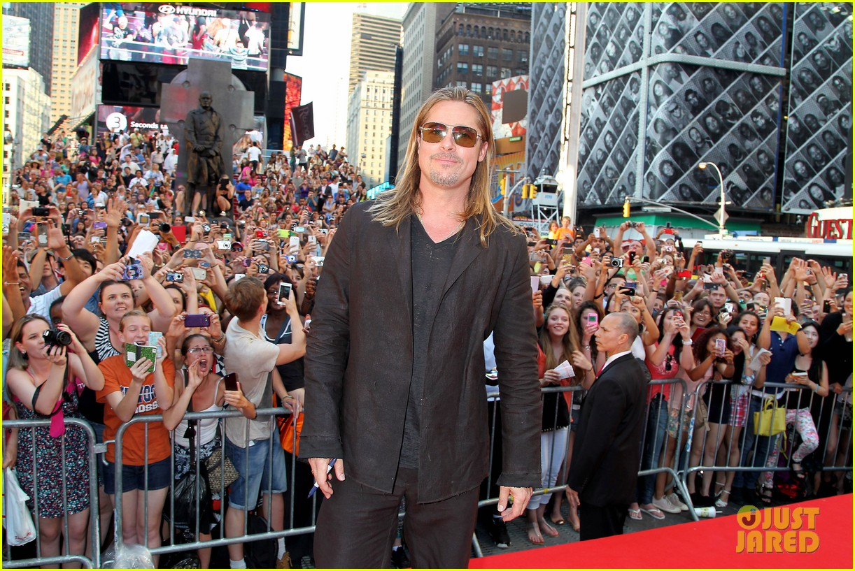 brad pitt world war z new york premiere 16