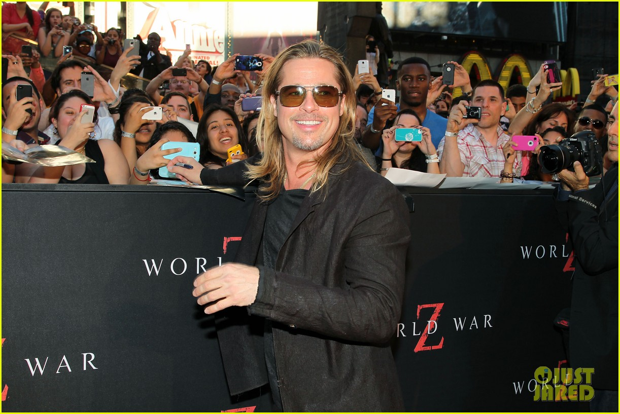 brad pitt world war z new york premiere 24