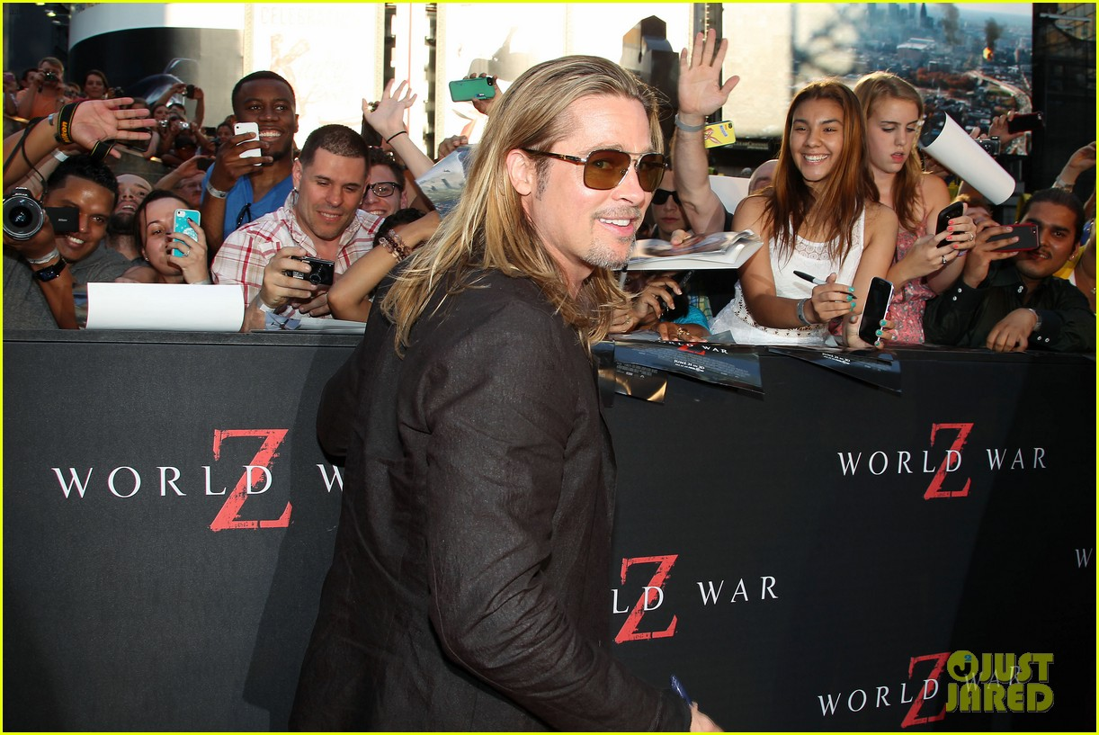 brad pitt world war z new york premiere 26