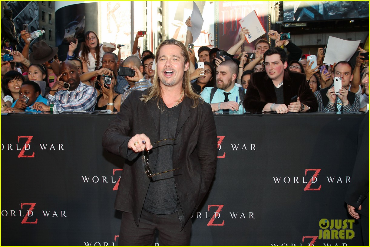 brad pitt world war z new york premiere 282893170
