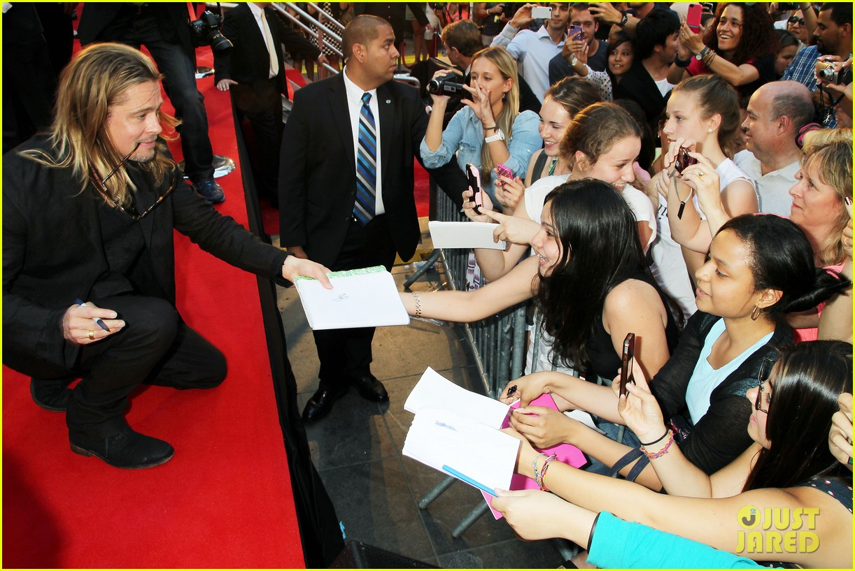 brad pitt world war z new york premiere 372893179