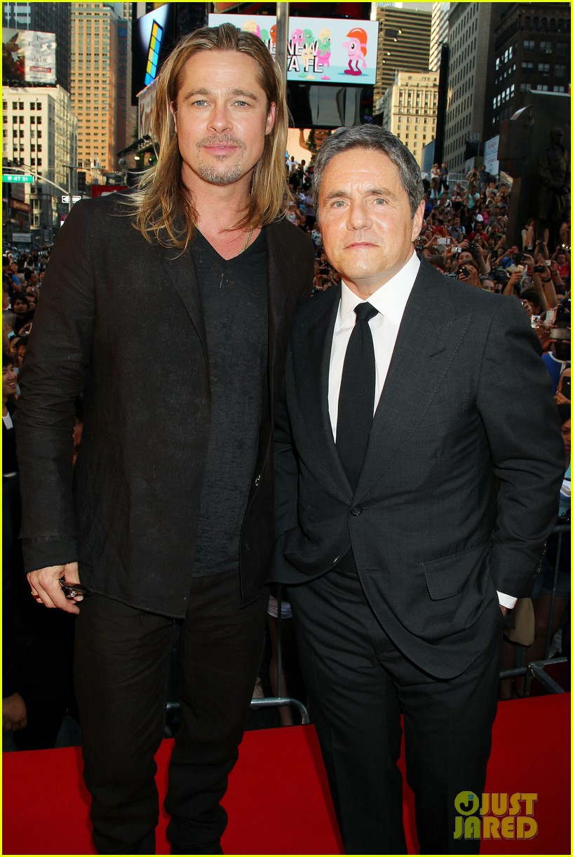 brad pitt world war z new york premiere 422893184