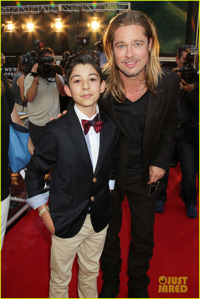 brad pitt world war z new york premiere 432893185