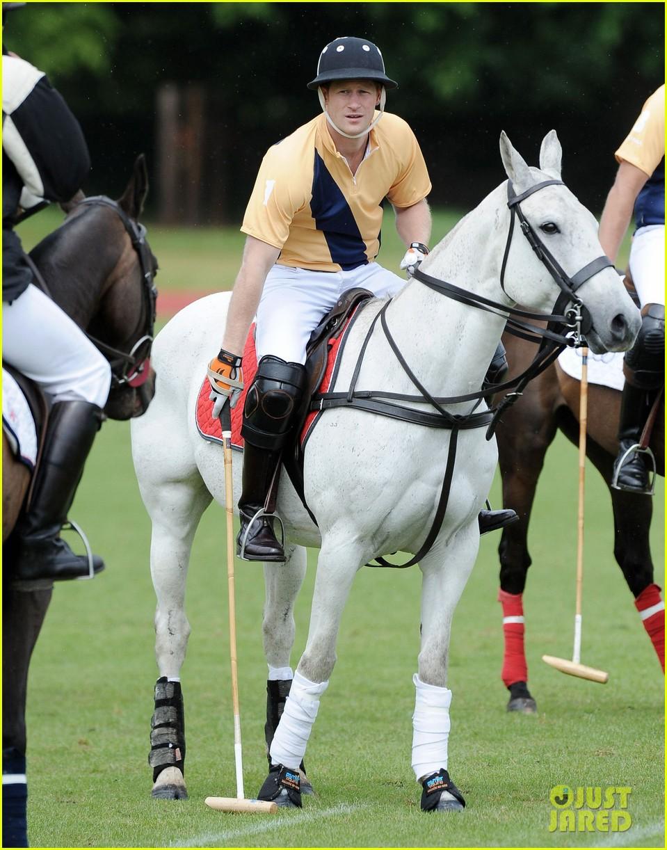 prince william harry international audi polo game 012892301