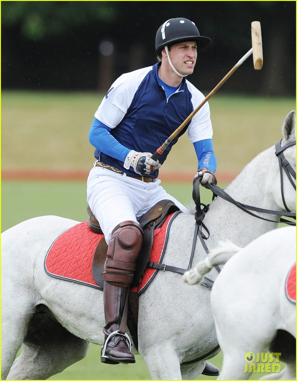 prince william harry international audi polo game 032892303