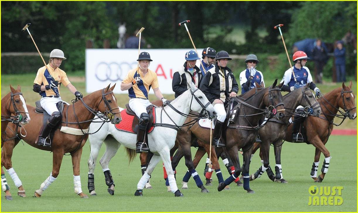 prince william harry international audi polo game 062892306