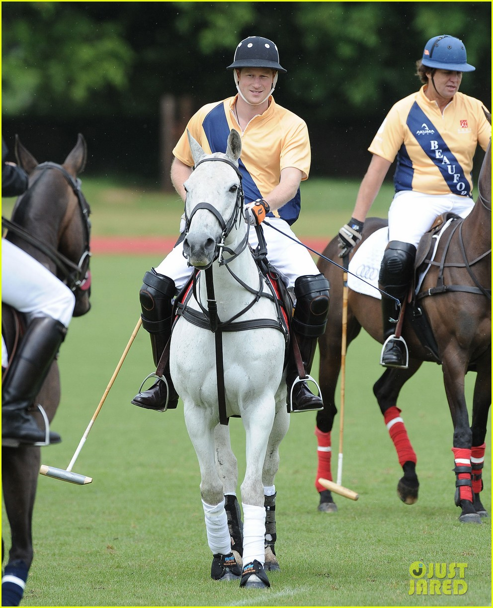 prince william harry international audi polo game 072892307