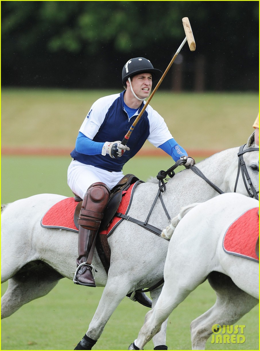 prince william harry international audi polo game 082892308