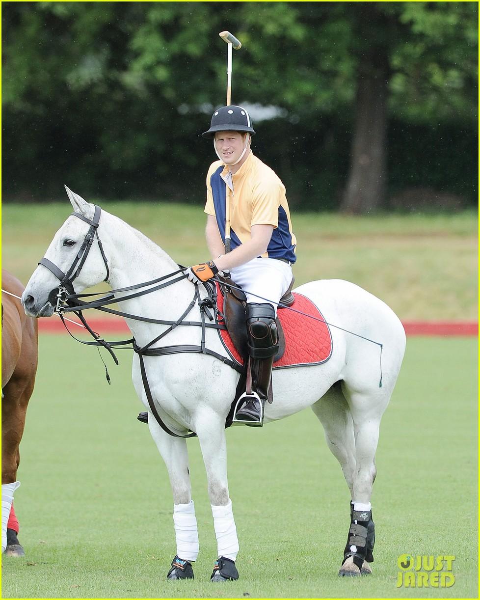 prince william harry international audi polo game 092892309