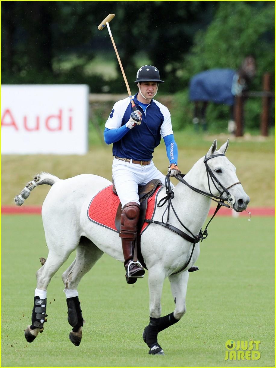 prince william harry international audi polo game 102892310