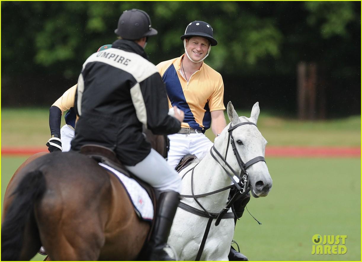 prince william harry international audi polo game 122892312