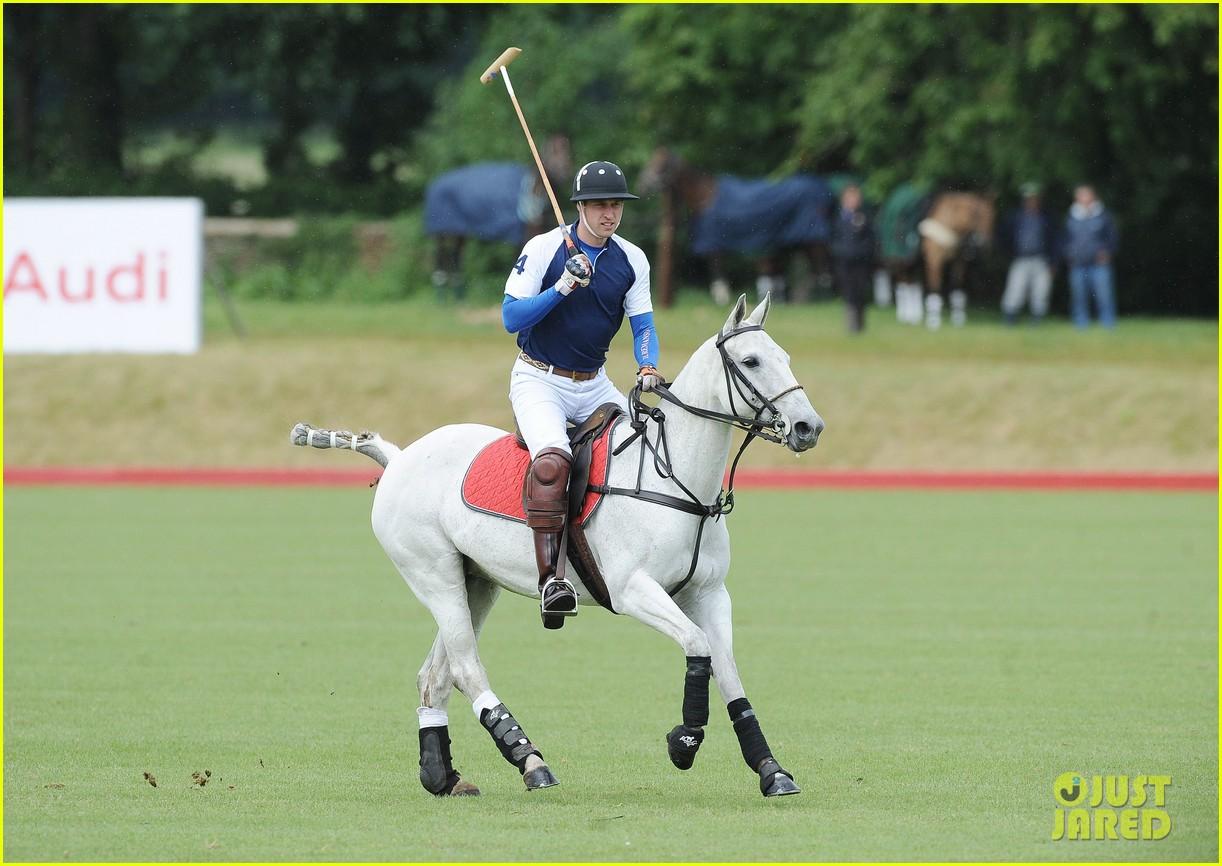 prince william harry international audi polo game 132892313