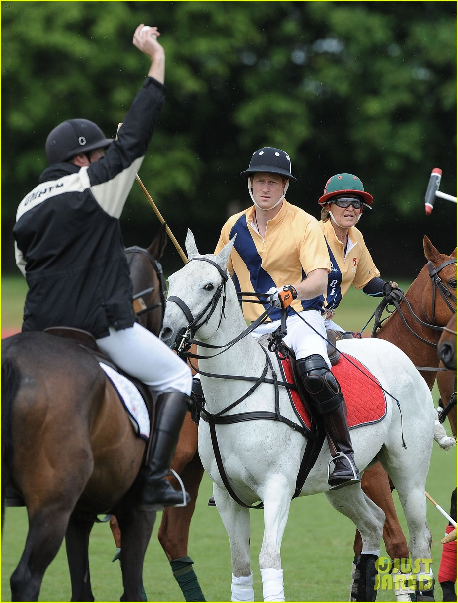 prince william harry international audi polo game 202892320