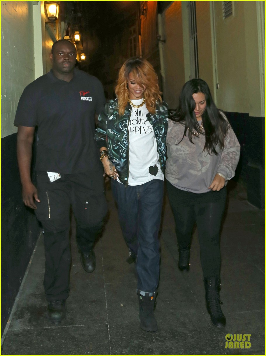 rihanna lillie bordello nightclub with jennifer rosales 082896108
