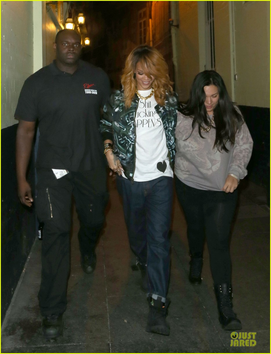 rihanna lillie bordello nightclub with jennifer rosales 092896109