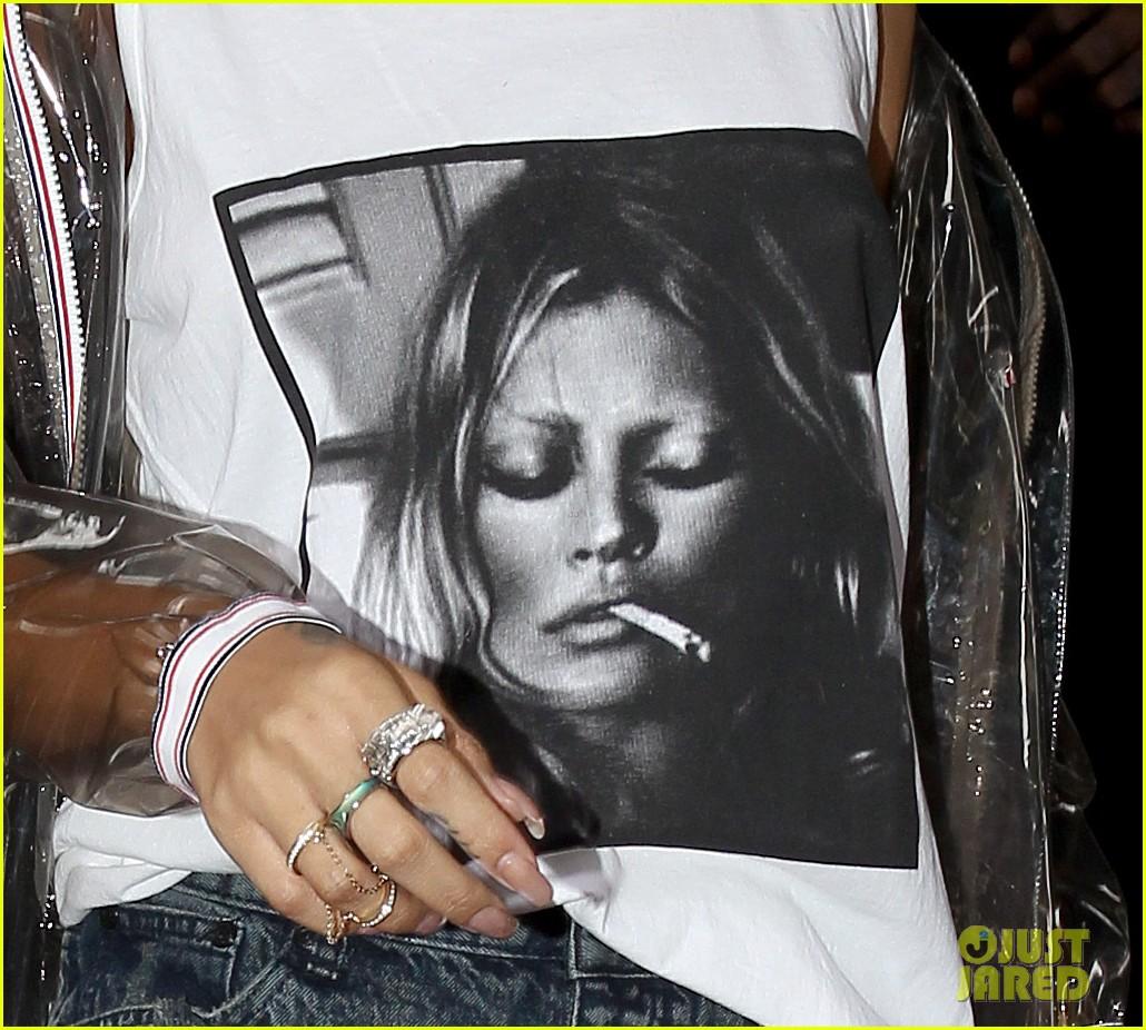 rihanna wears kate moss tank top in london 232898826