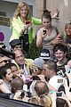 rihanna swarmed by fans at antwerp hotel 06