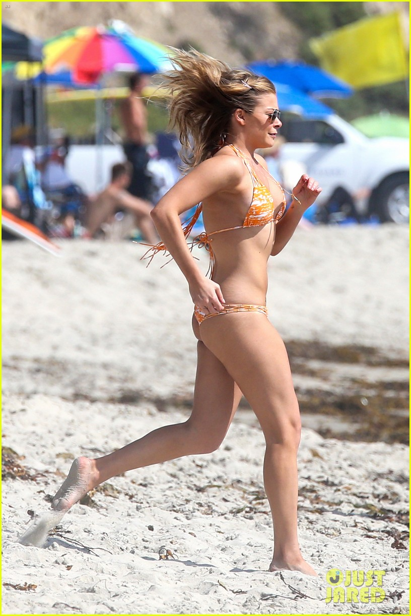 leann rimes bikini beach trip for eddie cibrian 40th bday 09