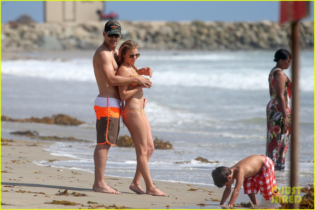 leann rimes bikini beach trip for eddie cibrian 40th bday 242895246