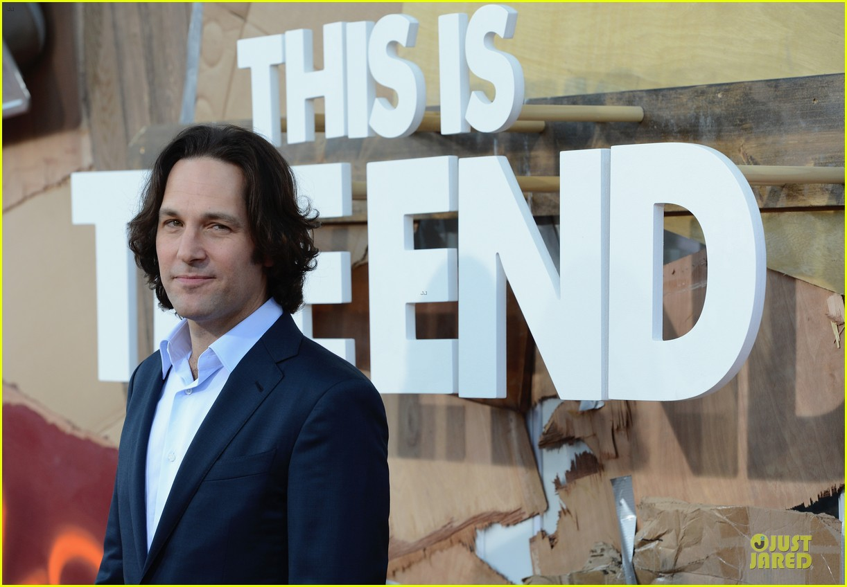 seth rogen paul rudd this is the end los angeles premiere 092883998