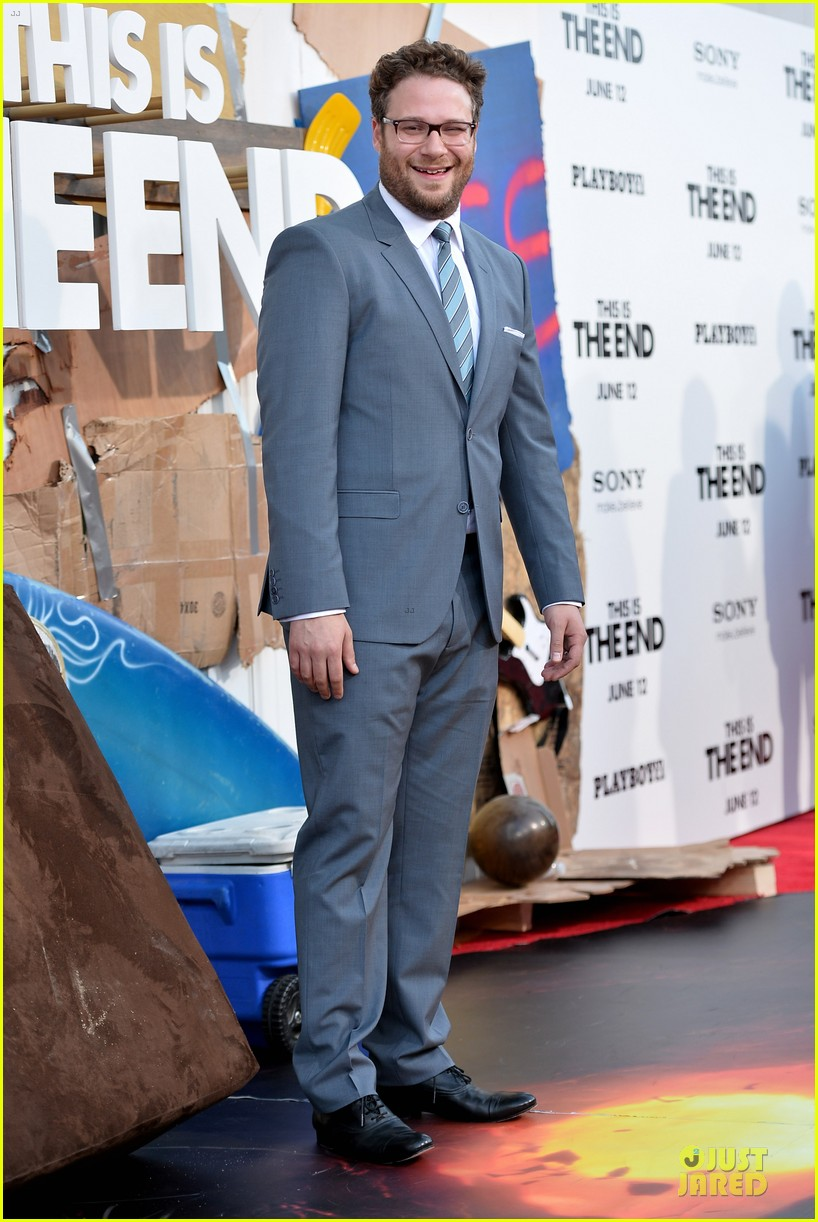 seth rogen paul rudd this is the end los angeles premiere 112884000