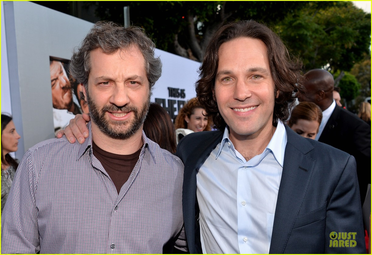 seth rogen paul rudd this is the end los angeles premiere 132884002