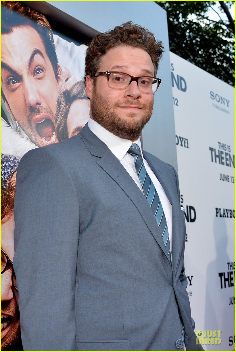 seth rogen paul rudd this is the end los angeles premiere 16