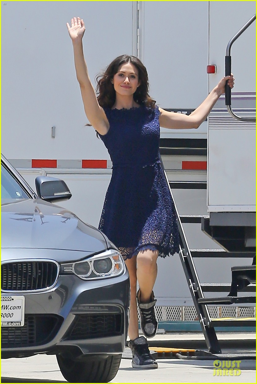 emmy rossum justin long makes me laugh too much on comet 152893923